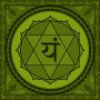 Символът на четвърта чакра
